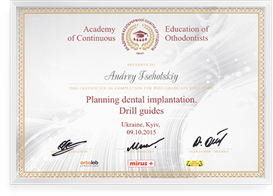 Planning dental implantation