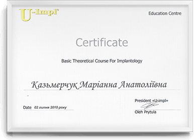 Basic Theoretical Course for Implantology